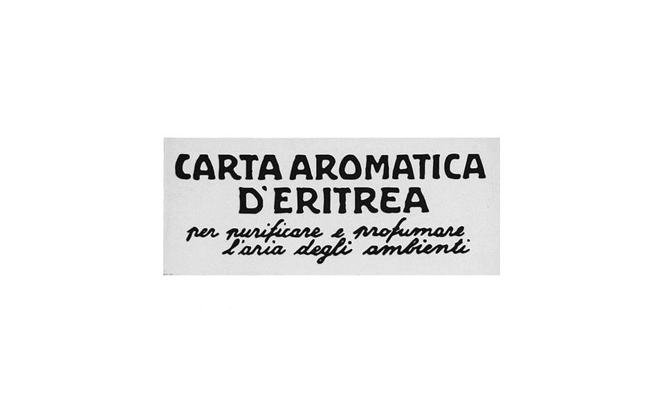CARTA AROMATICA D'ERITREA